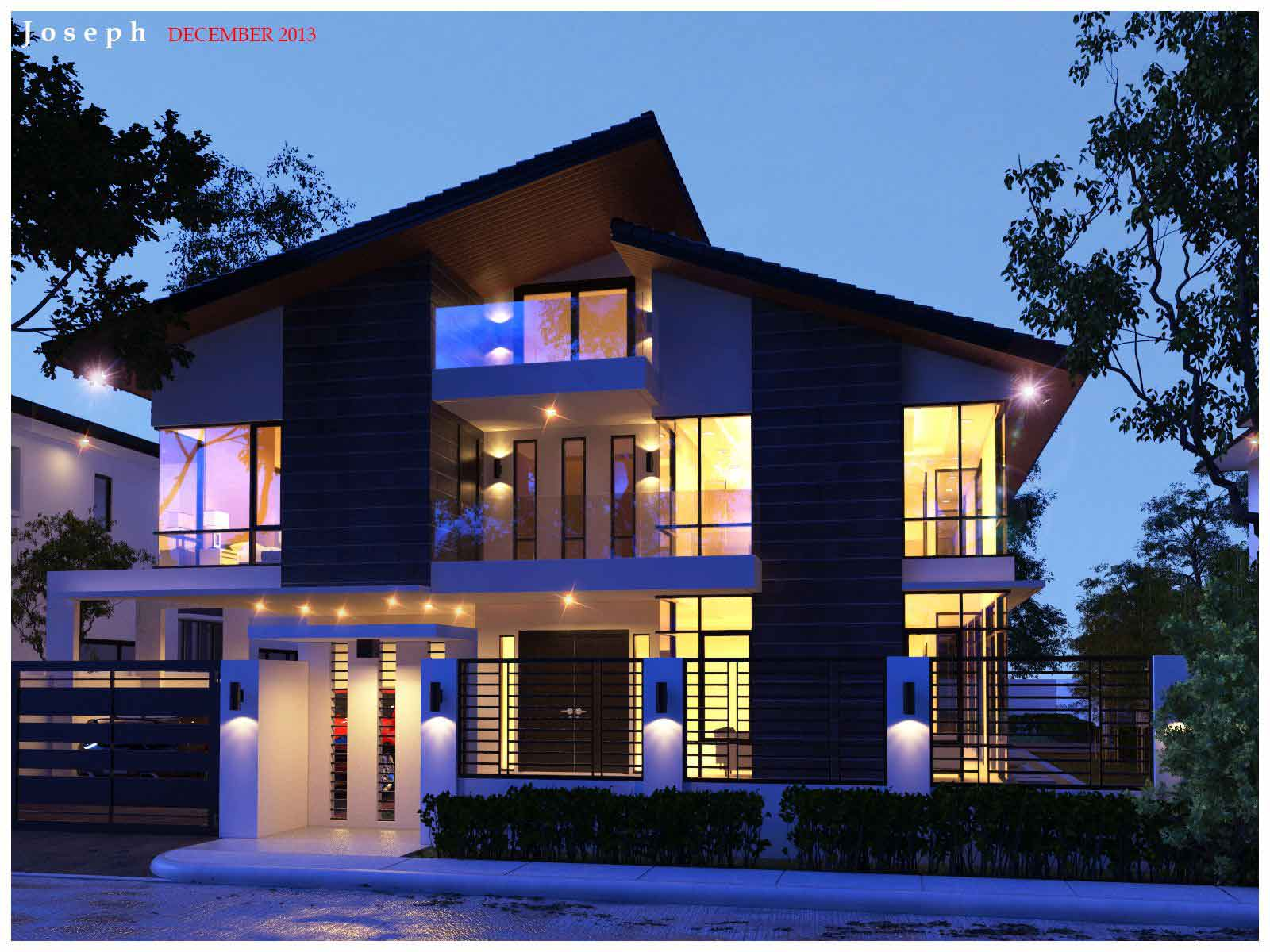 Vray Light Exterior Rendering 3d Architectural Rendering Services House Exterior Rendering Vray