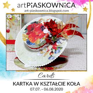 CARDS - kartka w kształcie koła