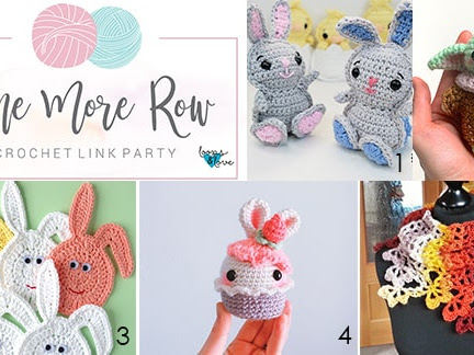 One More Row - Free Crochet Link Party #18