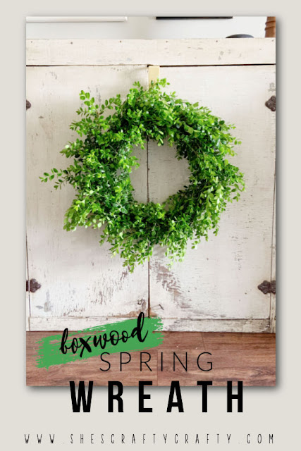 How to Make a Wreath from Boxwood Bush Clippings.
