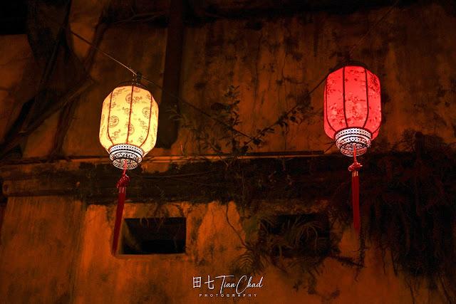 鬼仔巷 夜晚上 中秋节 照片 KWAI CHAI HONG AT NIGHT Moonlight In The City 城里的月光