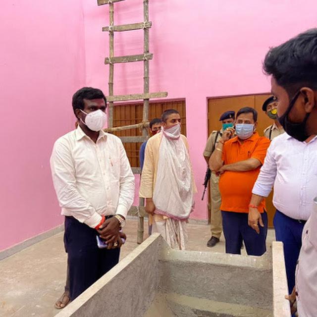 विद्युत चलित व लकड़ी चलित शवदाह गृह का निरीक्षण कर उपायुक्त ने अधिकारियों को दिए आवश्यकदिशा निर्देश