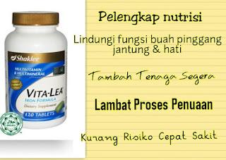 vita lea; multivitamin shaklee; multivitamin terbaik; vitamin tertua dunia