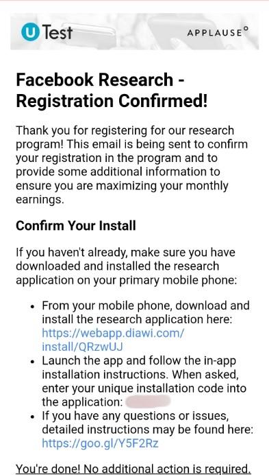 STOP NOW] (Rs  41,000 Proof + Big Update) Facebook Research App
