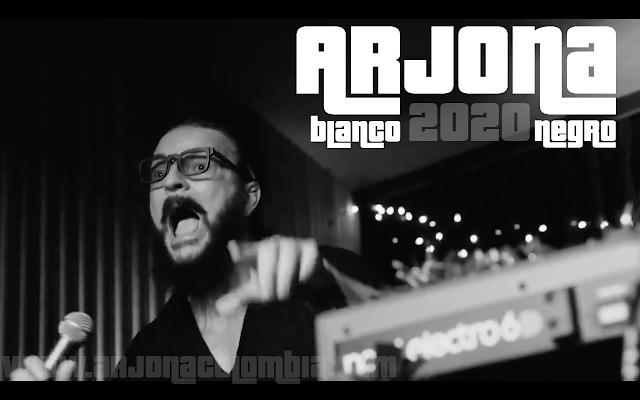 Ricardo Arjona Blanco y Negro 2020