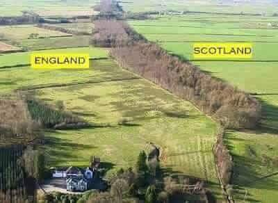 England & Scotland World's Amazing Border Lines