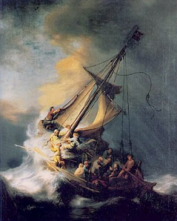 Rembrandt Van Rijn: The Storm on the Sea of Galilee