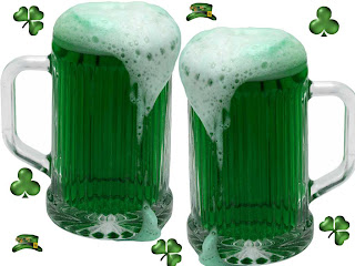 Green beer St Patrick's day