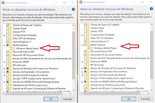 Recursos do Windows