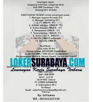 Walk In Interview di PT. Cyber Surabaya Agustus 2020