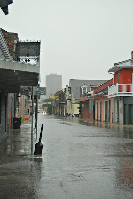 Rain in New Orleans
