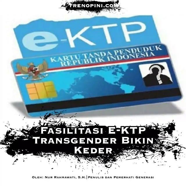 Pihak pemerintah akan memberikan bantuan bagi para transgender untuk mendapatkan KTP Elektronik (KTP-el), akta kelahiran dan Kartu Keluarga (KK).