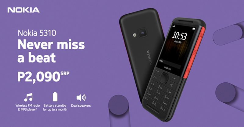 Nokia brings back the 5310 Xpress Music in PH for PHP 2,090!