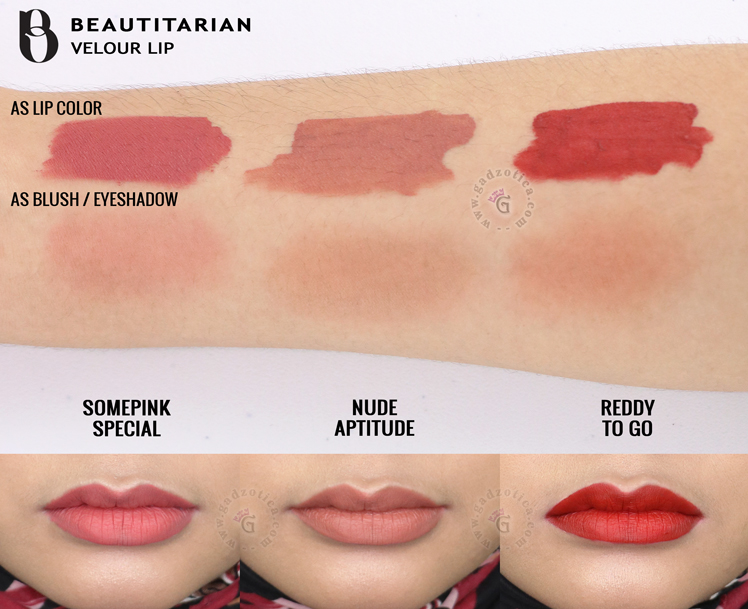 Beautitarian Velour Lip