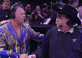 WWE / WWF Backlash 2002 - Jim Ross & Jerry 'The King' Lawler called the event