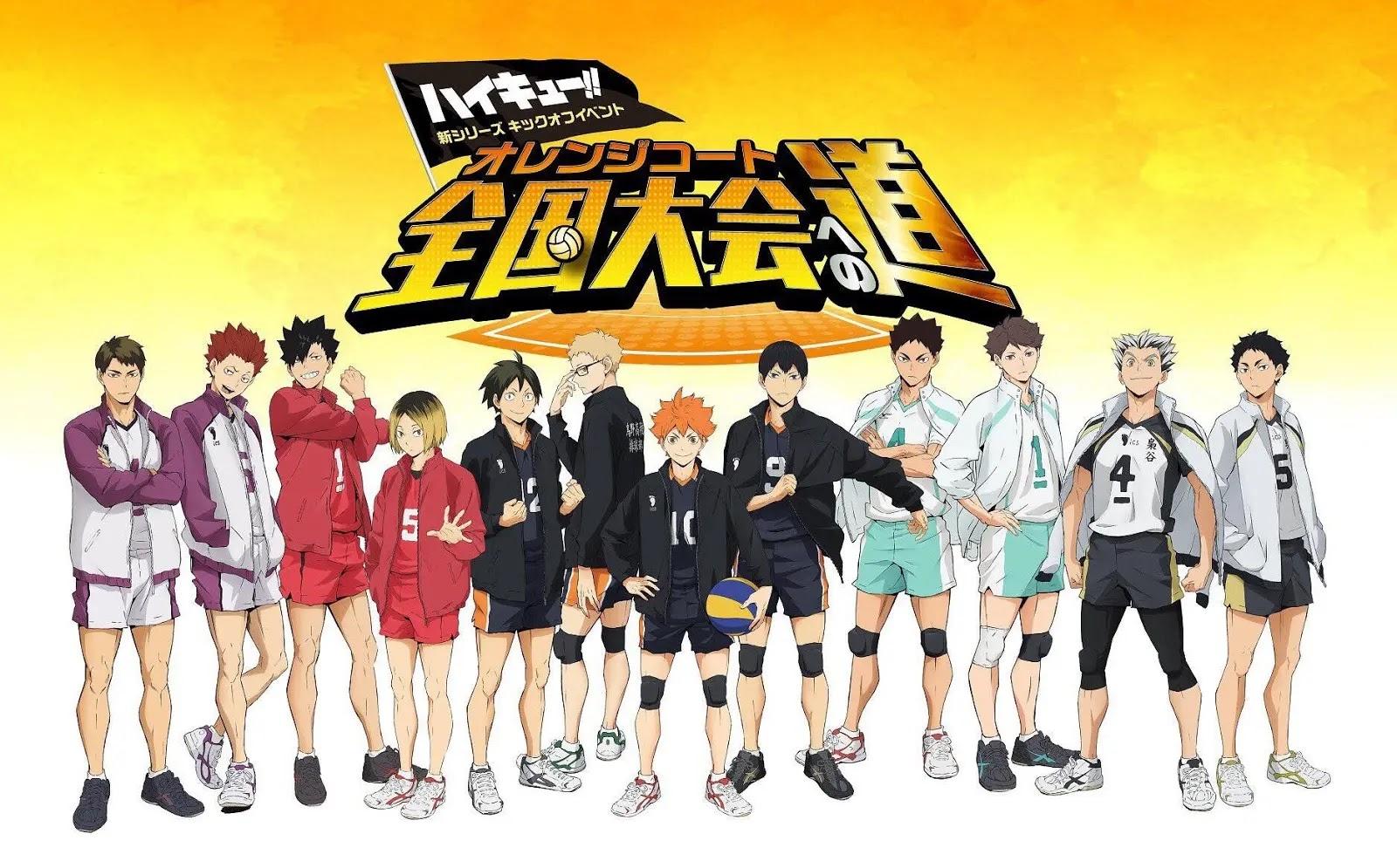 انمي هايكيو إلى القمة الموسم الثاني Haikyuu To the Top Season 2 الحلقة 1 مترجمة اون لاين انمي هايكيو Haikyuu الجزء الخامس على موقع ot4ku.