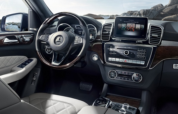 Interior Mercedes Benz Clase GLS