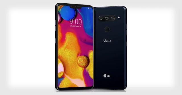 LG V40 ThinQ: il primo smartphone con cinque fotocamere