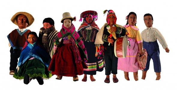 Muñecos Hechos De Papel Muestran Diversidad De Ecuador: EL KIOSKO DE URPI: MUSEO NACIONAL DE LA CULTURA PERUANA