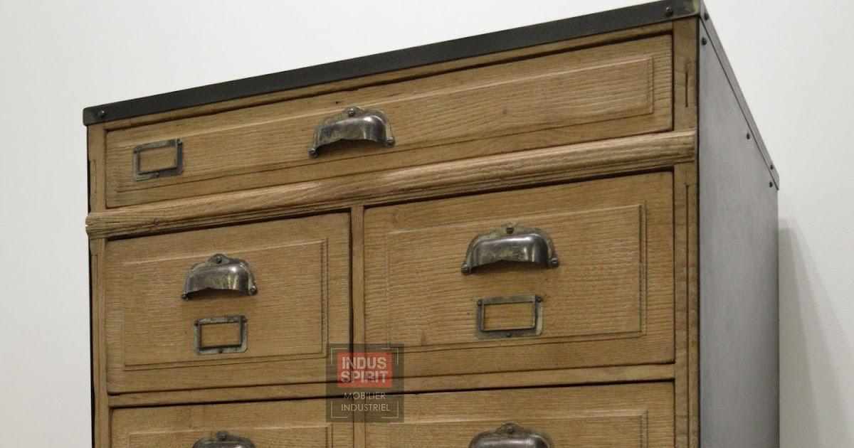 Meuble de m tier - Renover meuble industriel ...
