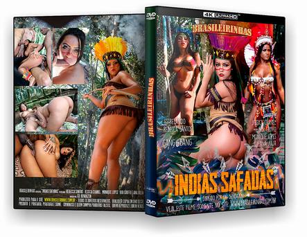 CAPA DVD – Brasileirinhas – Indias Safadas xxx 2019 – ISO