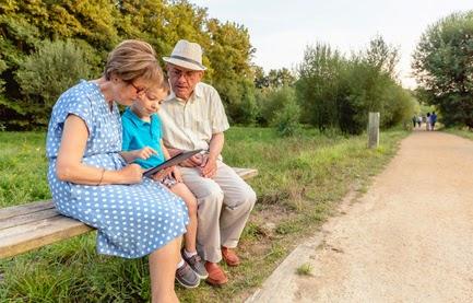blog.laverodonna.es tecnología, nietos, abuelos