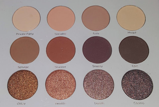 PUR Cosmetics Soiree Diaries Palette