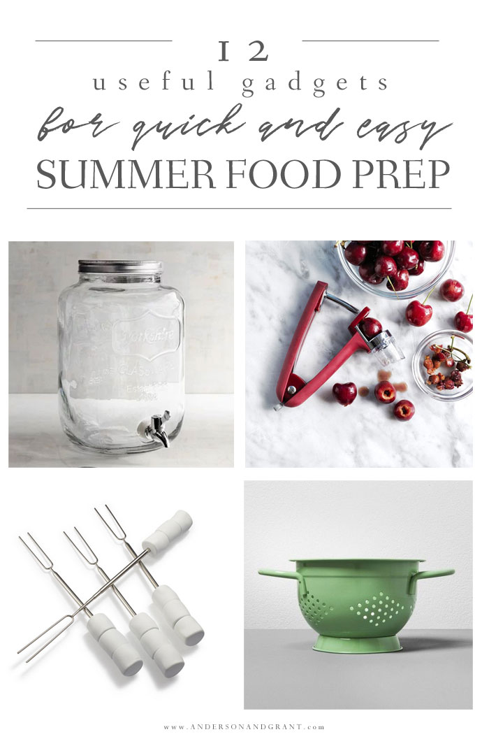 Kitchen Tools for Summer