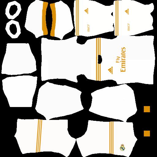 Kit DLS Real Madrid New DLS 20