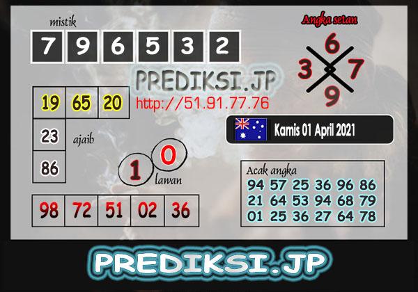 Prediksi JP SD Kamis 01 April 2021