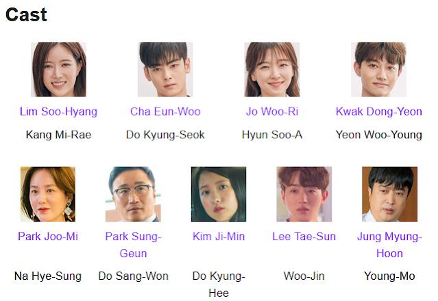 My ID Is Gangnam Beauty K-Drama Cast