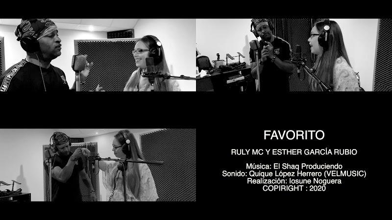 Ruly MC & Esther García Rubio - ¨Favorito¨  Videoclip - Directora: Iosune Noguera. Portal Del Vídeo Clip Cubano. Música cubana. Hip Hop. Rap. Cuba.