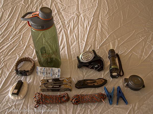 Kit básico de sobrevivência