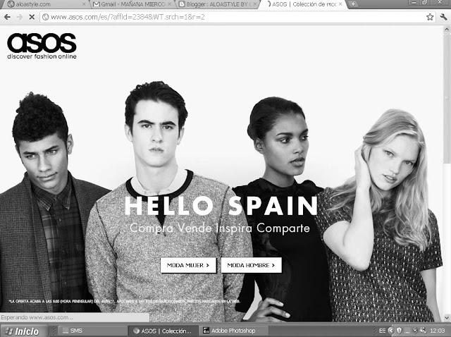 Hoy miércoles 28 de sept. ASOS, el mayor armario del mundo abre sus puertas a España