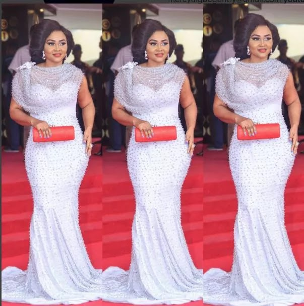image result for Mercy Aigbe AMVCA dress
