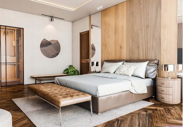 Mẫu phòng ngủ cực kỳ sang chảnh và tiện nghi