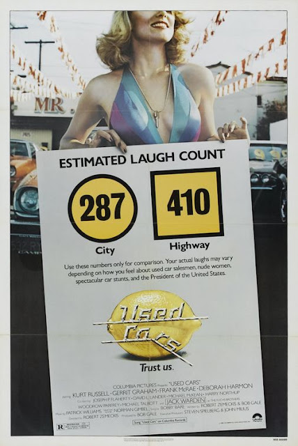 Used Cars 1980 movie poster Robert Zemeckis Kurt Russell