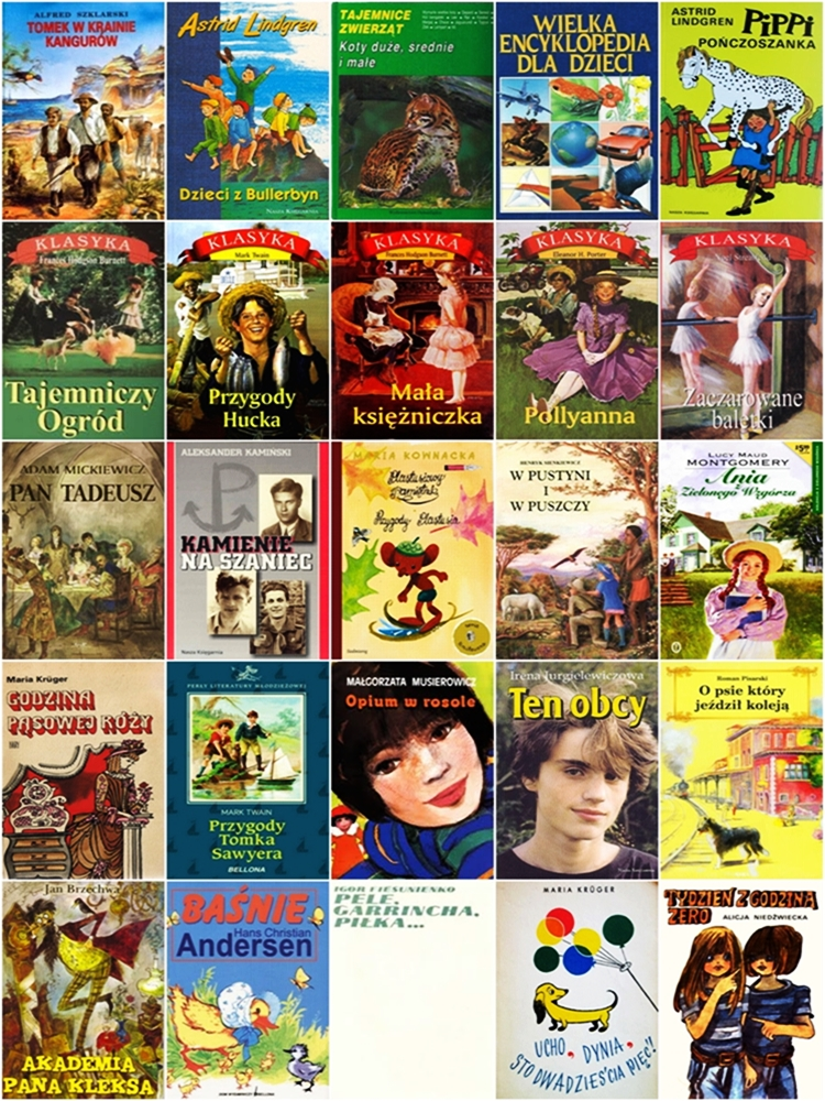 ulubione książki dla dzieci