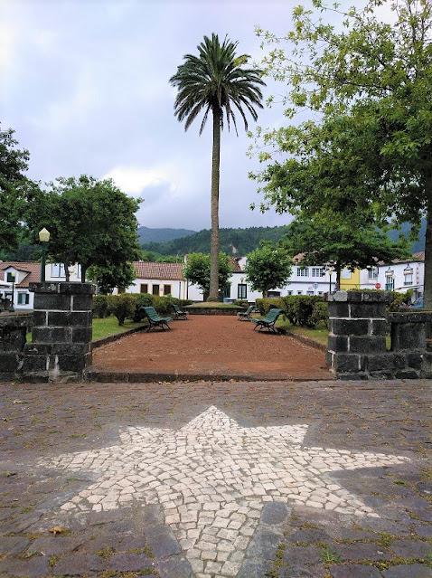 Parque de la Palmera en Furnas (Açores)