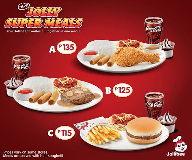 Jollibee Menu Meal Bucket Price