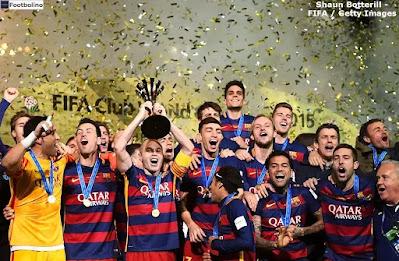 عدد ألقاب برشلونة في كأس العالم للأندية