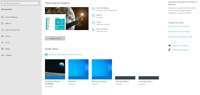 Cara Merubah Tampilan Windows 10 Menjadi Bagus