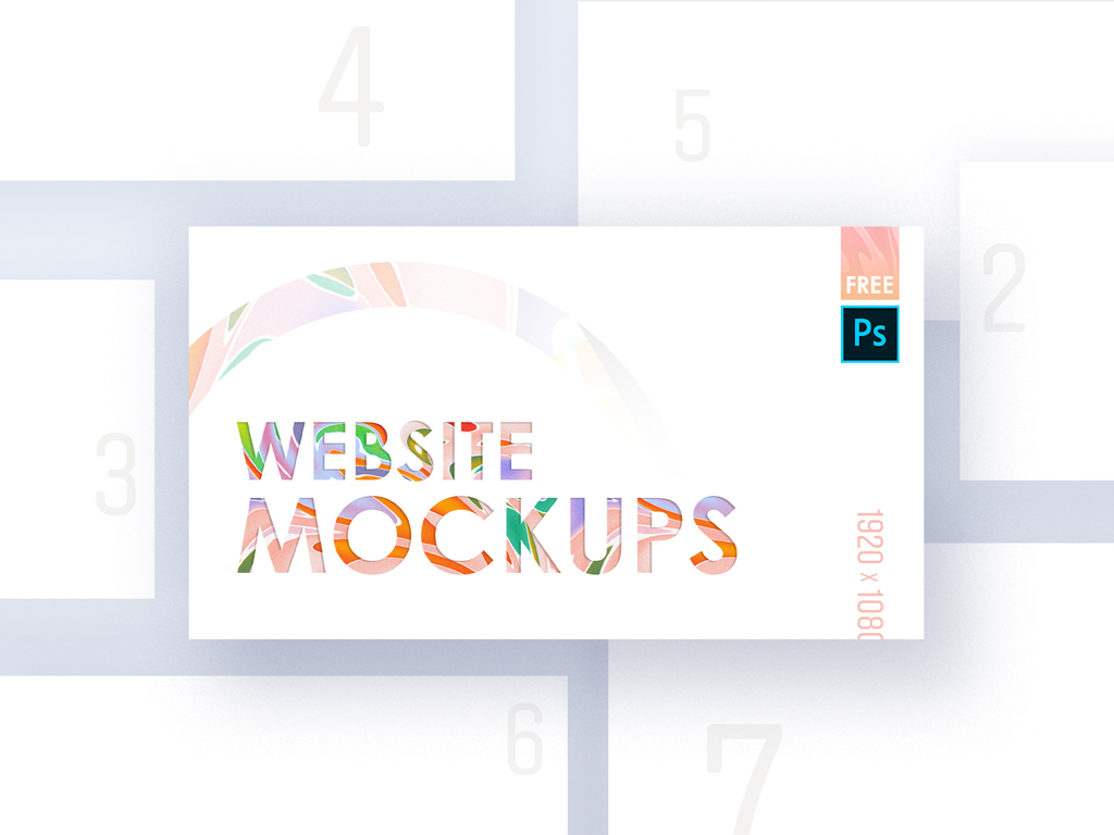 Website Mockup Presentation Bundle