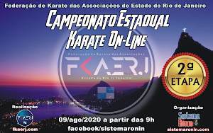 Campeonato Estadual de Karate On-Line - 2ª Etapa