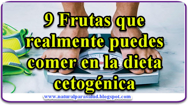 9 Frutas que realmente puedes comer en la dieta cetogenica