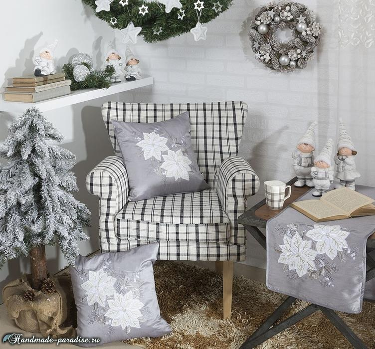 Красивый дизайн интерьера к Рождеству (2)