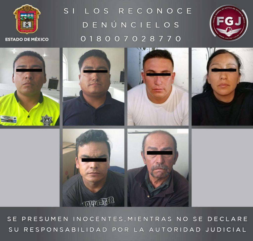 Policías Extorsionadores se enfrentaron a golpes y balazos con ministeriales que los iban a detener en Coacalco