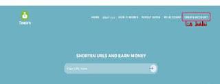 شرح التسجيل فى موقع اختصار الروابط tmearn وطريقة الربح منه + هدية قيمة