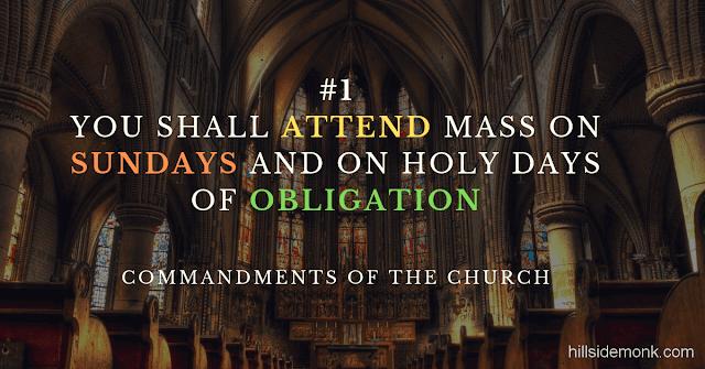 5 Precepts Of The Church-1