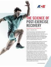 THE SCIENCE OF POST-EXERCISE RECOVERY pdf